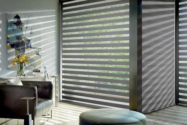 Hunter Douglas - DESIGNER BANDED SHADES – ONE SHADE, LAYERS OF LIGHT