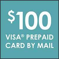 Earn a $100 visa prepaid card when you open and use a new mohawk credit card