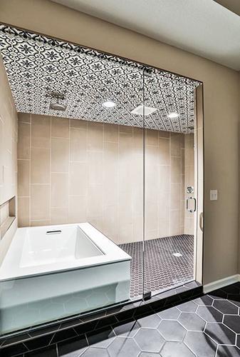 Bathroom remodel by Erskine Interiors