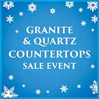 Get a free under-mount sink with countertop purchase during our New Year New Floor sale at Erskine Interiors