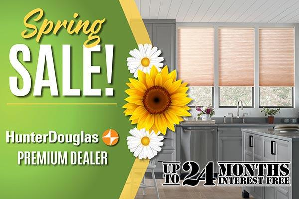 Spring Sale! Hunter Douglas premium dealer. Up to 24 months interest free