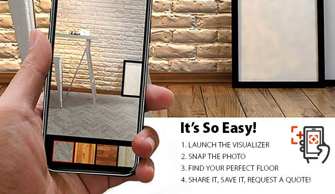 See our flooring in YOUR room with our Room Visualizer tool - give it a try!